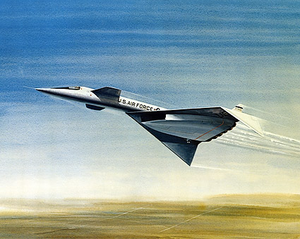 XB-70 / XB-70A in Flight Artistic Rendering Photo Print