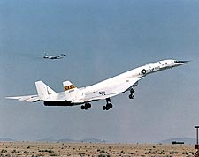 XB-70 / XB-70A Liftoff w/ B-58 Chase Plane Photo Print for Sale