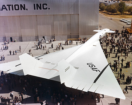 XB-70 / XB-70A Valkyrie Aircraft Rollout Photo Print