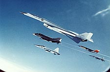 XB-70 / XB-70A Valkyrie Flight Formation Photo Print for Sale