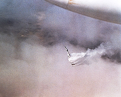 XB-70 / XB-70A Valkyrie Mid Air Collision Photo Print