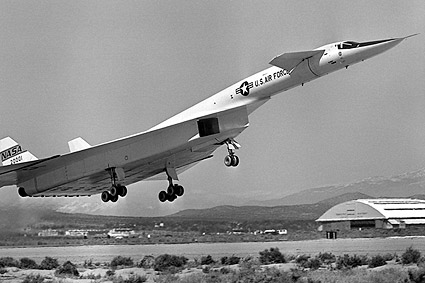 XB-70 / XB-70A Valkyrie Taking Off Photo Print