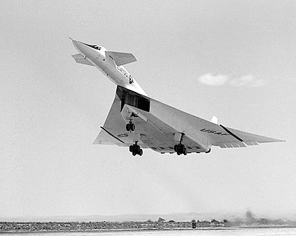 XB-70A During Take-Off Air Force XB-70 Photo Print