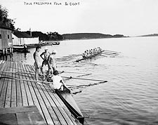 Yale University Freshman Rowing Team Photo Print for Sale