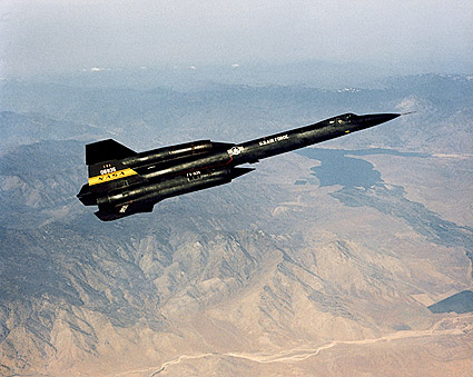 YF-12 Blackbird in Flight SR-71 Photo Print