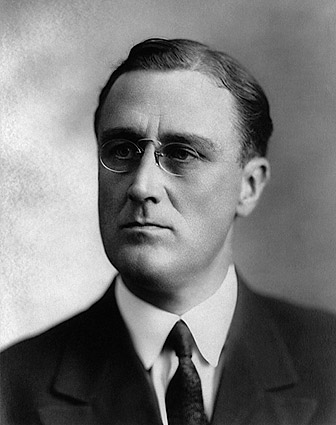 Young Franklin Delano Roosevelt Portrait 1920 Photo Print
