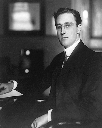 Young Franklin Roosevelt Portrait FDR 1913 Photo Print
