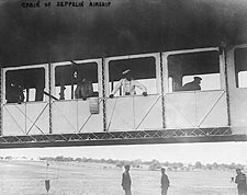 Zeppelin Airship / Blimp Passenger Cabin Photo Print for Sale