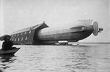 Zeppelin Airship / Blimp Water Hangar Photo Print for Sale