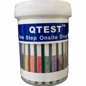 11 Panel Cup  QTEST™  CLIA Waived