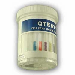7 Panel Urine Drug Screen Cup QTEST
