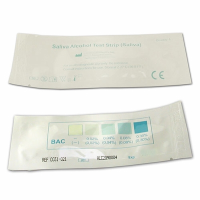 Alcohol Saliva Test Strip Kit
