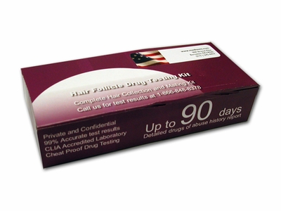 Hair  Drug Test Kit Follicle