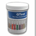 Multi Drug Testing Cup  QTEST™     CLIA WAIVED