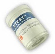 QTEST 12  Panel Drug Test Cup CLIA Waived