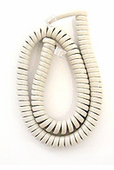 12 Foot Misty Cream Handset Cords (5 Pack)