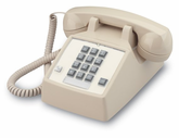 2500 Basic Desk Phone with Flash & Message Waiting