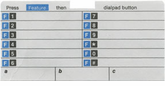 Definity 8403 Telephone Labels (10 labels)