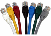 DynaCable 25 Ft. Cat. 5E Patch Cords - Booted or Non-Booted (10/pk.)