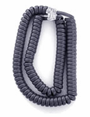 Extended Length Handset Cords for Avaya 2400, 4600, 5400, 5600 and Cisco 7900 Series (Blue-Gray) 5/pk.