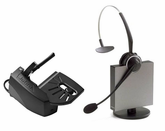 Jabra GN9125 Flex NC Wireless Headset with GN1000 Remote Handset Lifter (9125-808-215)