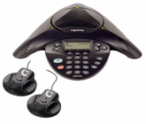 Nortel IP Audio Conference Phone 2033 w/PoE Module and External Microphones (NTEX11BA70E6)