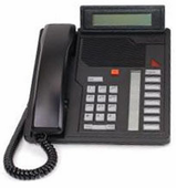 Nortel Meridian M2008HF Handsfree w/Display Telephone (NT9K08AD)