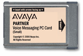 Partner Voice Messaging PC Card Release 3.0 Small - 4-Mailboxes (700226517, 700429384)