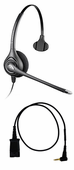 Plantronics HW251N Headset Package for Cisco SPA Series IP Phones
