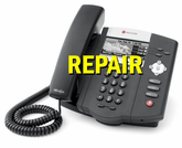 Repair: Polycom SoundPoint IP Phones