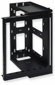 Wall Mount Data and Telecom Rack w/Swing Gate (12 RMS)