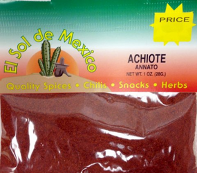 Achiote - Annato Ground Seasoning by El Sol de Mexico