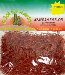 Azafran en Flor - Safflower by El Sol de Mexico