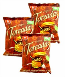 Barcel  Papas Toreadas Lime and Chipotle (Pack of 3)