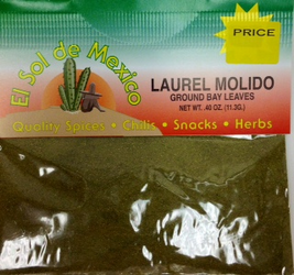 Bay Leaves Ground - Laurel Molido by El Sol de Mexico