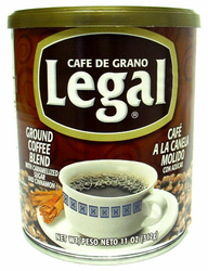 Café Legal Ground Coffee Blend with Caramelized Sugar and Cinnamon