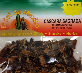 Cascara Sagrada - Rhamnus Purse by El Sol de Mexico