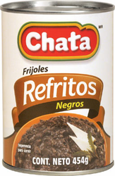 Chata Refried Black Beans (Pack of 3)