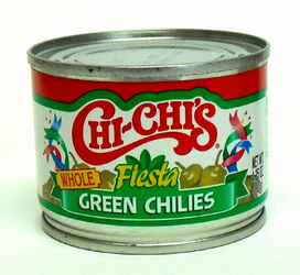 CHI-CHI'S Green Chilies, Whole