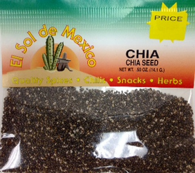 Chia Seeds by El Sol de Mexico