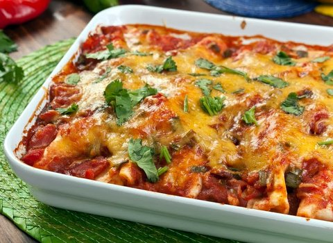 ... Chicken Enchiladas Mexican Recipe - Item No. 121-chicken-enchiladas-ii