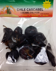 Chile Cascabel Dried Chile Pepper by El Sol de Mexico