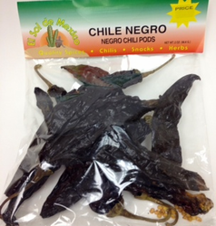 Chile Negro Dried Chile Pepper by El Sol de Mexico