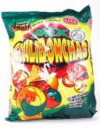 Chilibonchas Mix - Pineapple Watermelon Mango - Chilli Filled Hard Candy