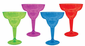 Cocktail Margarita Glasses 8 oz Assorted Colors