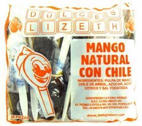 Cuchara Lizeth Mango Natural con Chile