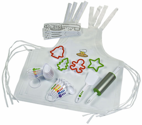 Curious Chef 26 Piece Holiday Cookie Kit