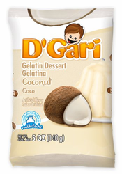 D'Gari Coconut Gelatin (Pack of 3)