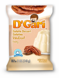 D'Gari Walnut Gelatin Dessert for Milk