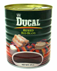 Ducal Refried Red Beans